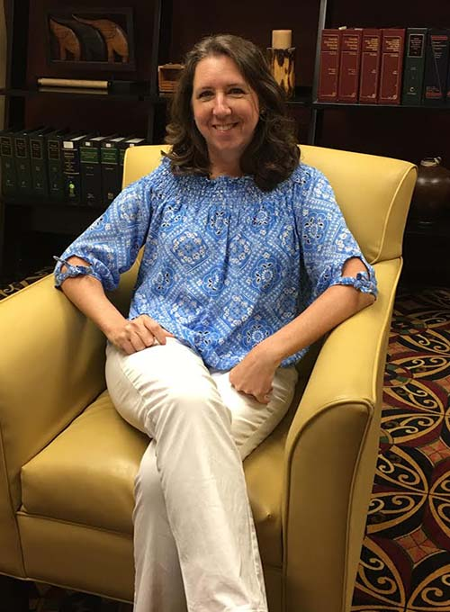 Kay Perdue, Legal Assistant
